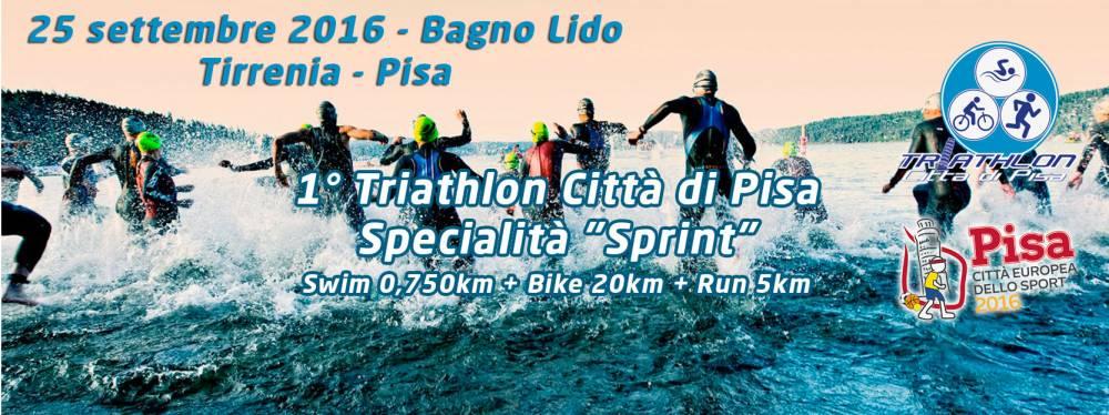 Triathlon Città di Pisa 2016 (Sprint): ISCRIVETEVI!