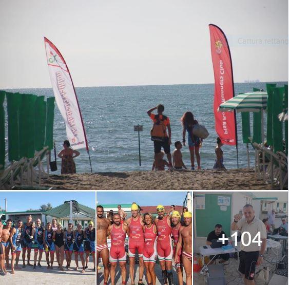 Triathlon citt di pisa - Bagno venere tirrenia ...